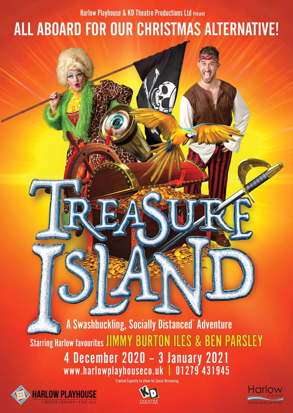 Treasure Island Harlow