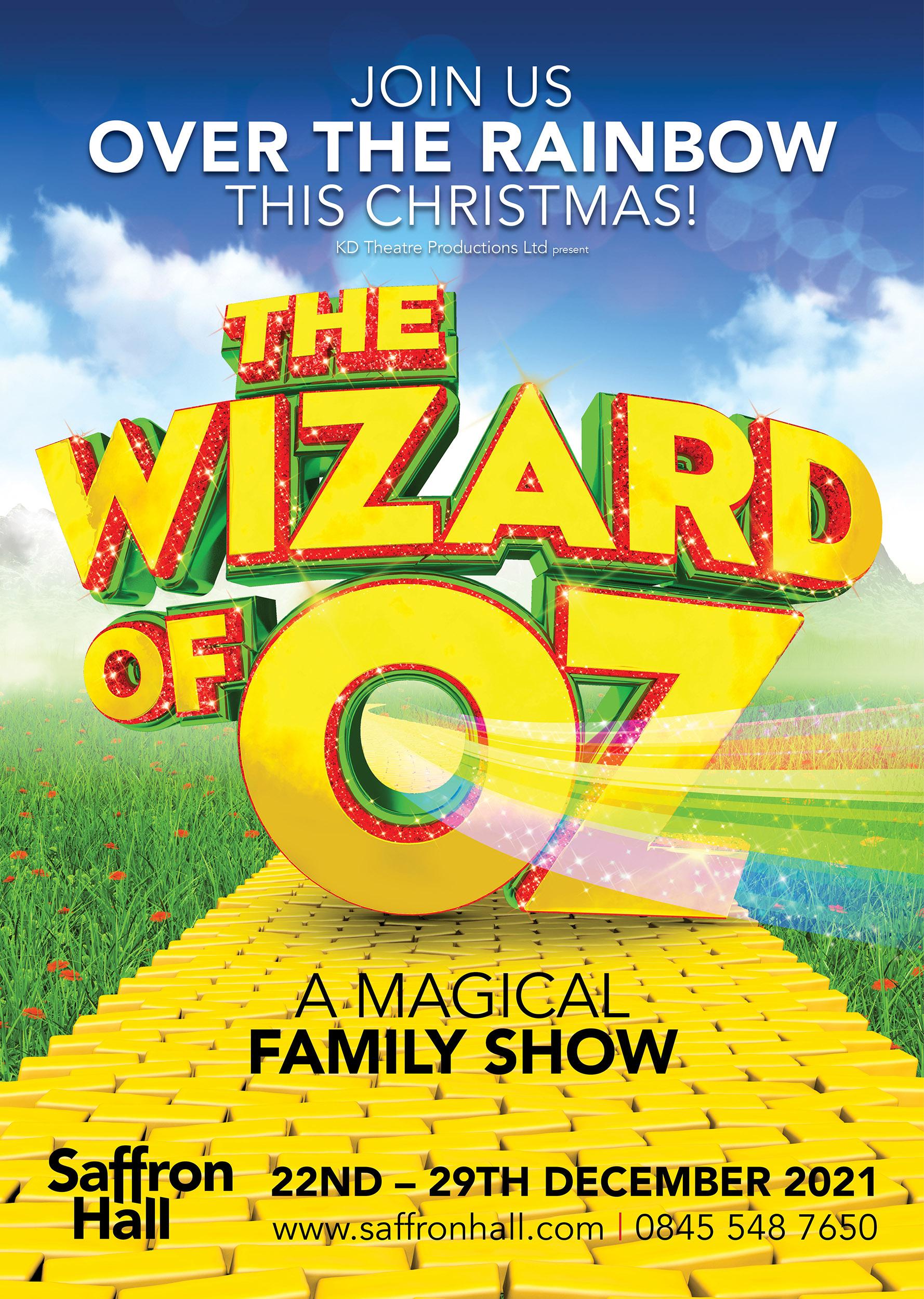 Wizard of Oz Saffron Hall