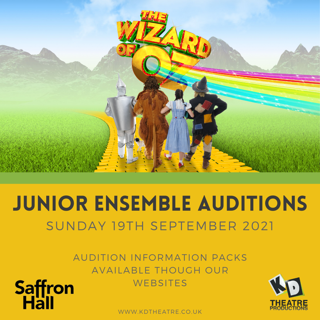 Wizard of Oz Junior Auditions